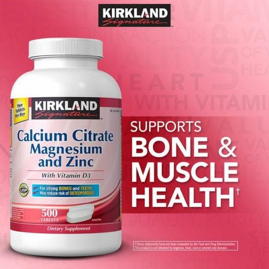 Calciu citrat magneziu si zinc cu Vitamina D3