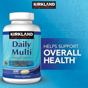 vitamine si minerale daily multi