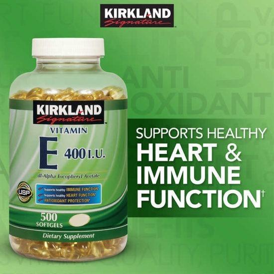 Vitamina E 400 UI pentru imunitate
