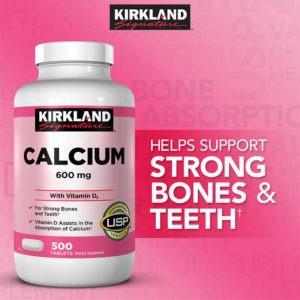 Calciu 600mg cu Vitamina D3